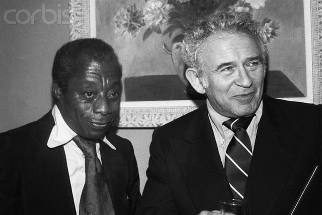 James Baldwin and Norman Mailer