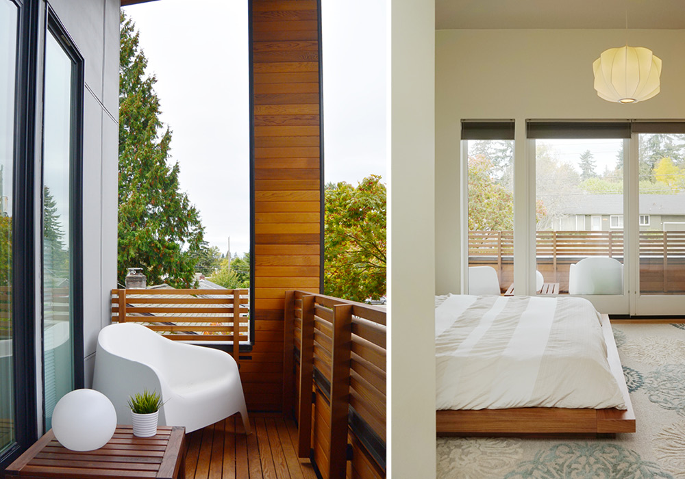 Master Bedroom And Outdoor Deck Skl Architects