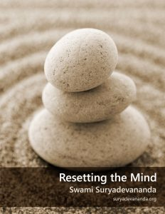 Resetting the Mind by Swami Suryadevananda